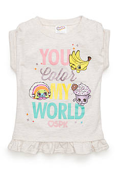 Shopkins™ 'You Color My World' Graphic Tee Girls 4-6x