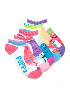 DreamWorks Trolls Feather Yarn Accents Trolls Socks Girls