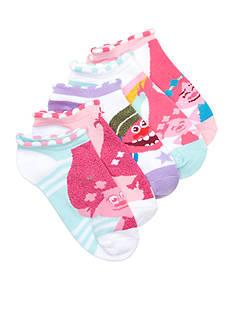 DreamWorks Trolls Scalloped Edge Accent Trolls Socks Girls