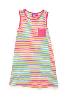 J. Khaki® Stripe Tank Dress Girls 4-6X