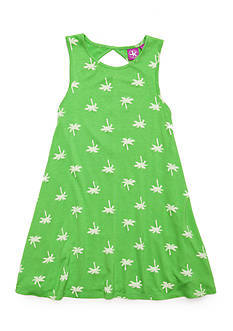 J. Khaki® Palm Tree Tank Dress Girls 4-6X