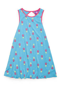 J. Khaki® Pineapple Tank Dress Girls 4-6X