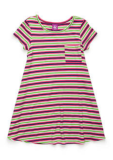 J. Khaki® Striped Swing Dress Girls 4-6x