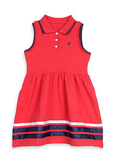 Nautica Pique Dress Girls 4-6x