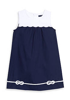 Nautica Woven Bib Dress Girls 4-6x