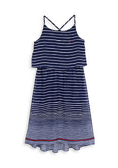 Nautica Engineer Stripe Dress Girls 7-16