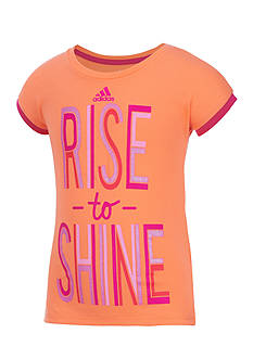 adidas® 'Rise to Shine' Neon Field Day Top Girls 4-6x