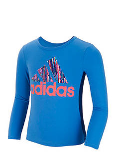 adidas Win Like A Girl Long Sleeve Top Girls 4-6x