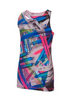 adidas Printed Twist Back Tank Top Girls 4-6x