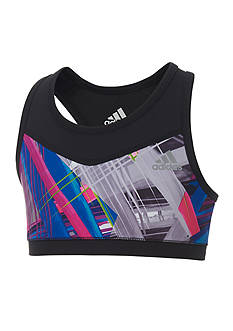 adidas® Printed Sports Bra Girls 7-16