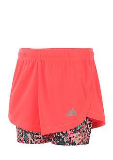 adidas Mesh 2-In-1 Shorts Girls 7-16