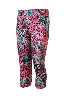 adidas Printed Capri Leggings Girls 4-6x