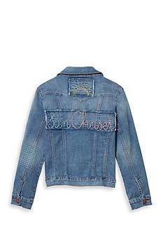 Jessica Simpson 'Sun Chaser' Denim Jacket Girls 7-16