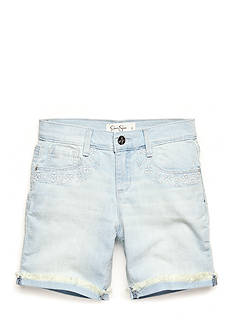 Jessica Simpson Cherish Twill Bermuda Shorts Girls 7-16