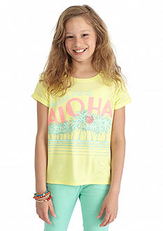 Jessica Simpson Ashlen Comego Printed Top Girls 7-16