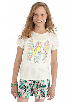 Jessica Simpson Ashlen Comego Tribal Surfboard Top Girls 7-16