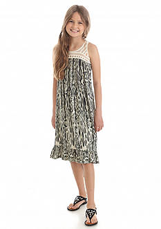 Jessica Simpson Kalypso Print Swing Dress Girls 7-16