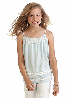 Jessica Simpson Denali Chambray Tank Top Girls 7-16