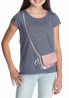 Jessica Simpson Nora Travel Purse Top Girls 7-16