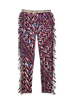 Jessica Simpson Novelty Fringe Patched Pants Girls 7-16
