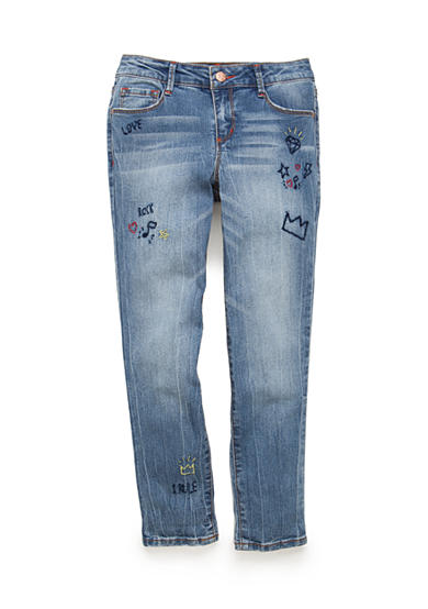 Jessica Simpson Slim Boyfriend Fit Monroe Tomboy Jean Bottoms Girls 7-16