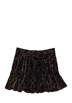 Jessica Simpson Floral Velour Skirt Girls 7-16