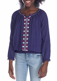 Jessica Simpson Peasant Blouse Girls 7-16