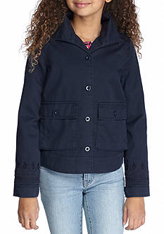 Jessica Simpson Girls Army Swing Jacket