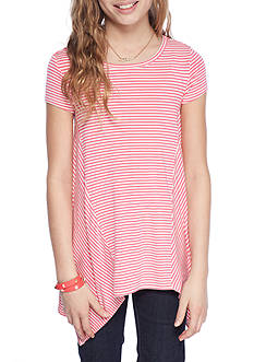 Jessica Simpson Striped Handkerchief Top Girls 7-16
