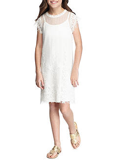 Jessica Simpson Crochet Dress Girls 7-16
