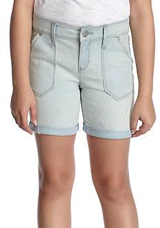 Jessica Simpson Roll Cuff Bermuda Shorts Girls 7-16