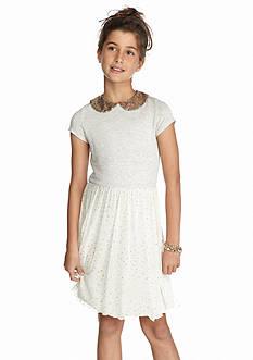 Jessica Simpson Shareen Glitter Dress Girls 7-16