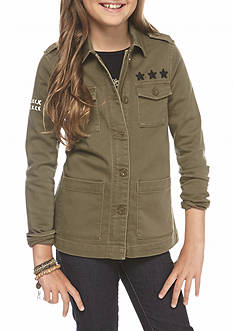 Jessica Simpson Army Jacket Girls 7-16