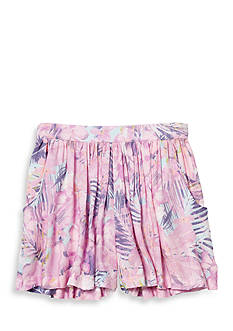 Jessica Simpson Printed Flippy Short Girls 7-16