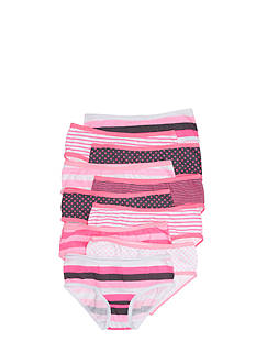Maidenform 10-Pack Hipster Panties Girls 4-16