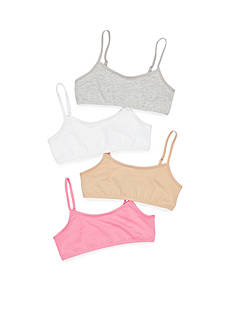 Maidenform® 4-Pack Crop Bra Girls 7-16