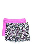 Playground Pals® 2-Pack Shorts Girls 4-16