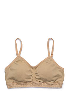 Maidenform Seamless Ruched Crop Bra Girls 7-16
