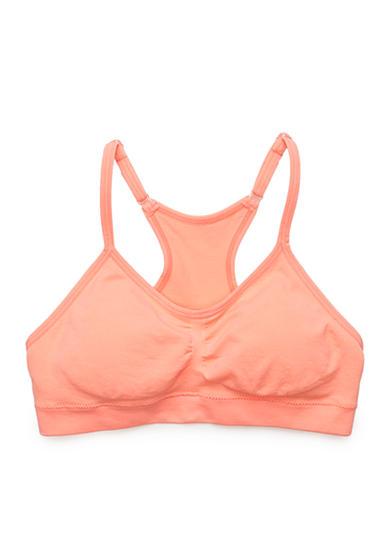 Maidenform ruched crop racerback bra girls 7 16 belk for Maidenform t shirt bra sale