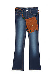 Squeeze Fringe Purse Skinny Jeans Girls 7-16