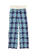 Squeeze Crochet Printed Palazzo Pants Girls 7-16