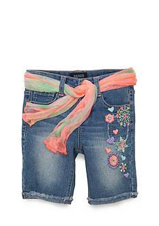 Squeeze Boho Floral Bermuda Shorts Girls 4-6x