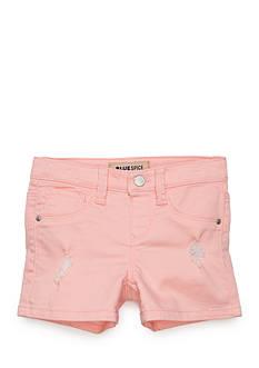 Squeeze Destructed Twill Short Girls 4-6x