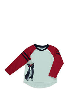 Hartstrings Raglan Sleeve Puppy Top Girls 4-6x