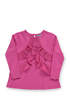 Hartstrings Long Sleeve Ruffle Tunic Girls 4-6x