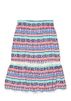 Red Camel® Aztec Stripe Print Maxi Skirt Girls 7-16