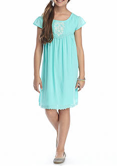 Red Camel® Embroidered Dress Girls 7-16