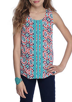 Red Camel Medallion Tank Girls 7-16