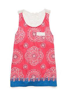 Red Camel Crochet Back Tank Girls 7-16