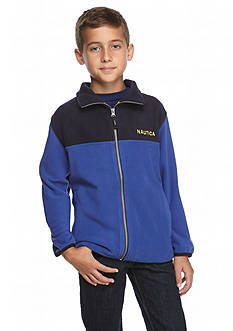 Nautica Long Sleeve Fleece Jacket Boys 8-20